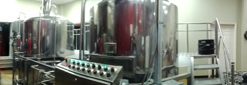 Our brewhouse in its original Florida habitat